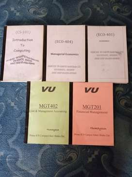Virtual University differnets Books