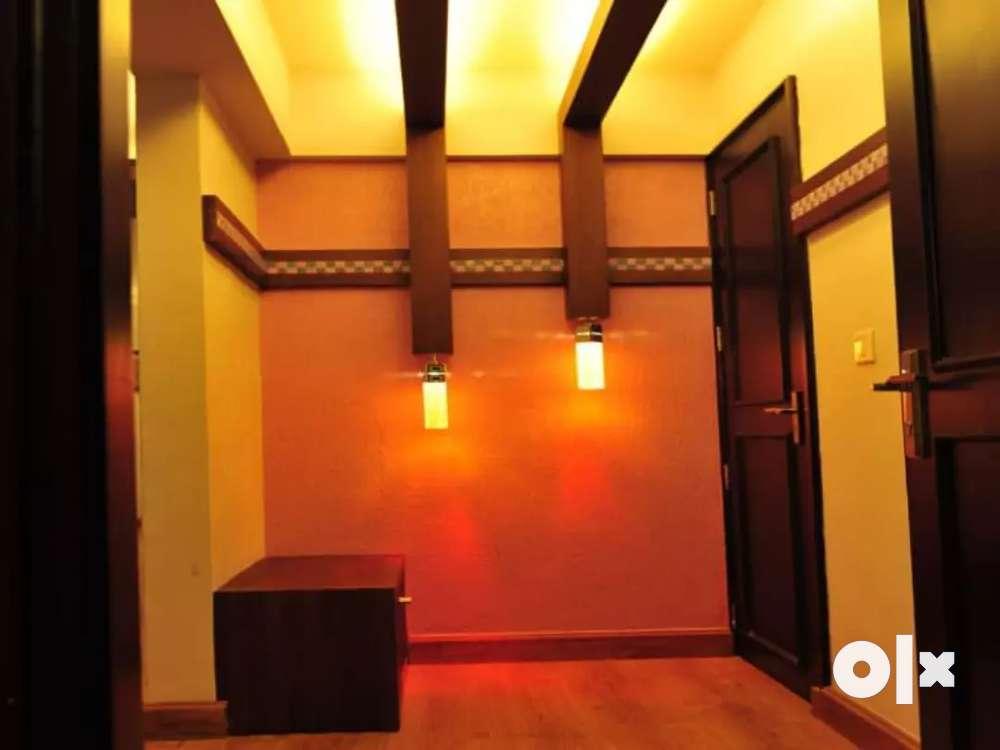fully furnished 3bhk apartment for sale at kuravankonam, kowdiar