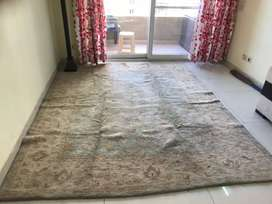 Mirzapur handmade Carpet just 1 yr old in perfect condition