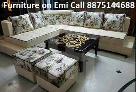Special Off- New Sofa set 8500,L shape sofa 14000/-, Finance available