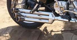 Bullet Silencer for standard royal enfield 350