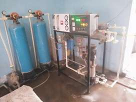 Mineral water plant & Tata mega XL with 100 gallon supply. Price 65000