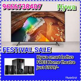 """Oppo offer Hywa 32""""smart ledtv free Home theater"""