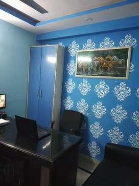 2 room set builder floor ofgice for rent in 7500 rs not negotiable