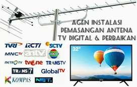 Ahli Spesialis Instalasi Sentral Pasang Sinyal Antena Tv Digital.