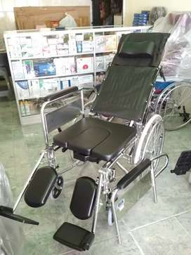Kursi roda 3in1 selonjor tiduran bab lansia