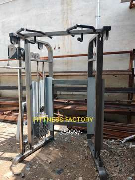 Combination new gym setup new commercial just rupees 299999