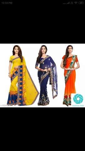 New suits and sarees