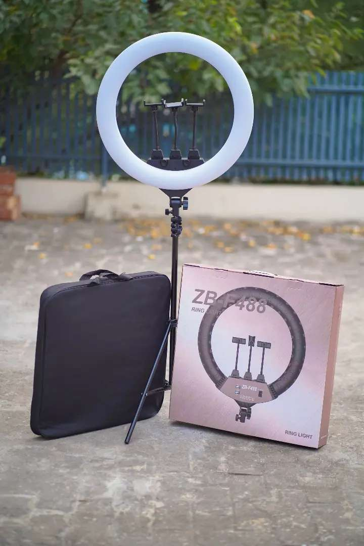 54cm Ring light witth stand 0