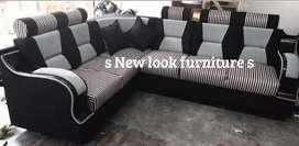 Full kushion corner sofa all type model available