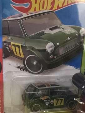 Hotwheels Morris Mini