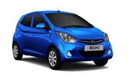 Uber and ola attched cng EON car for daily rent 500