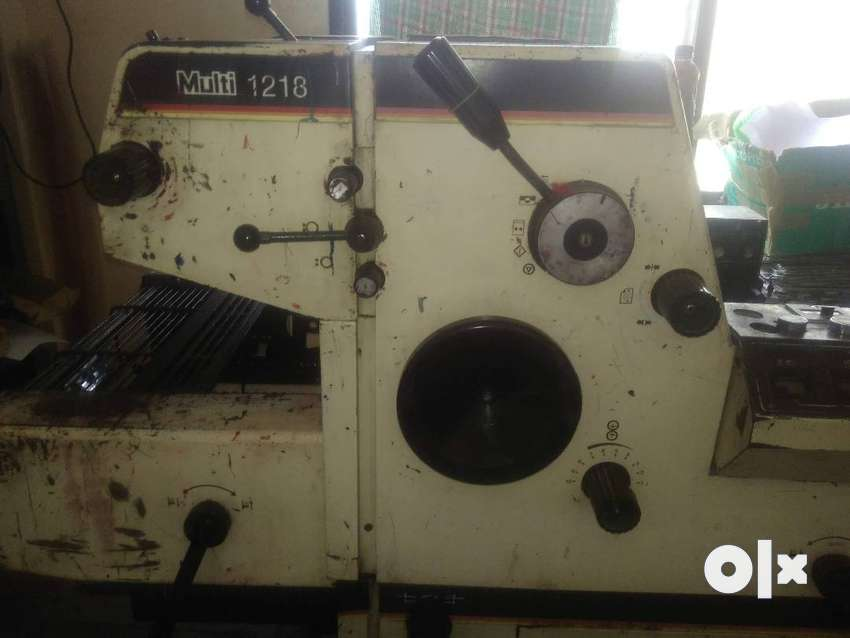 multi1218 offset printing machine for sale