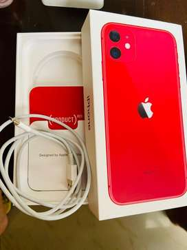Iphone 11 Red, only 3 months old