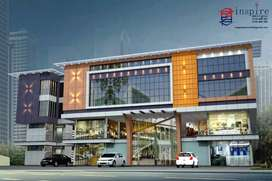 Commercial  space available on up coming mall at pattambi