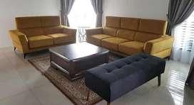 Kredit tanpa DP 1 set sofa warna bisa reques