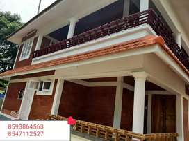 6.5 cent Plot 2800 Sqft 4 Bhk House In Vellayittambalam