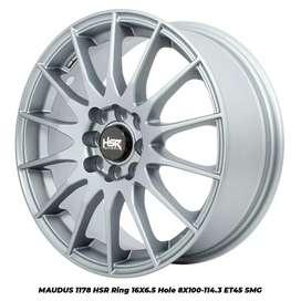 Velg Racing MAUDUS 1178 HSR R16X65 H8X100-114,3 ET45 SMG - Silver