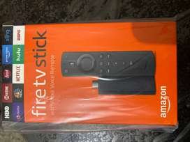 Fire tv Stick with Alexa Voice Remote (New in Box)