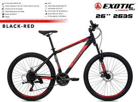 Sepeda MTB 26 inch Exotic 2635