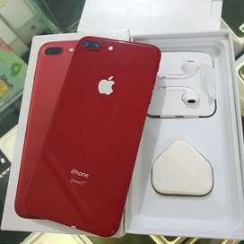iPhone 8 Plus 256 GB Red Fullset Box dan Asesoris Apple 8+ 256GB Merah
