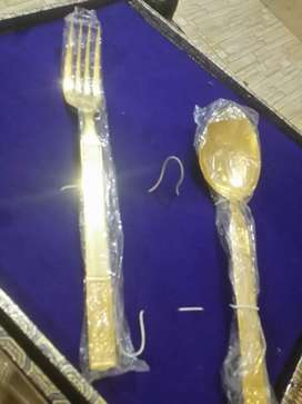 70 year old Gold plated cutRey Set