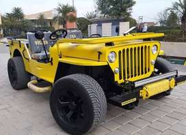 willy heavy open modified jeeps