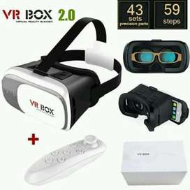 1 set vr box plus stik free ongkir