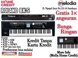 Promo Kredit Roland BK-5 Syarat KTP dan SIM di Melodia Musik Surabaya