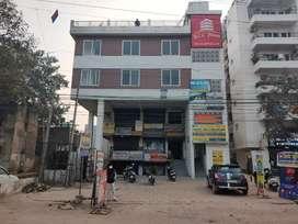 Road facing corner shop for rent