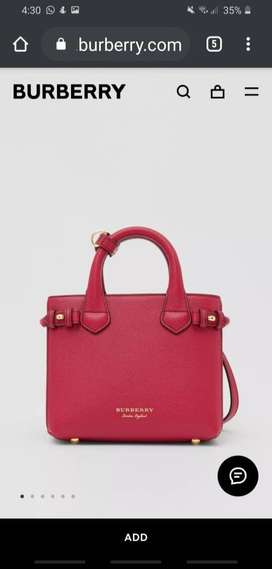 Burberry Banner Crossbody Bag