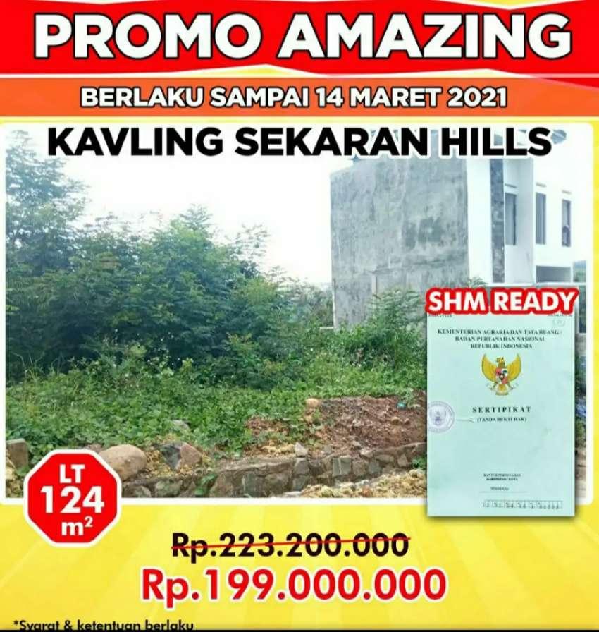 Tanah Murah Sekaran Gunung Pati Semarang Dekat Unnes Cocok untuk kos