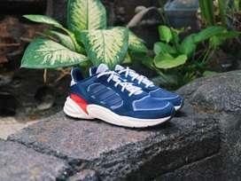 Sepatu Adidas Valasion 90's Navy Red