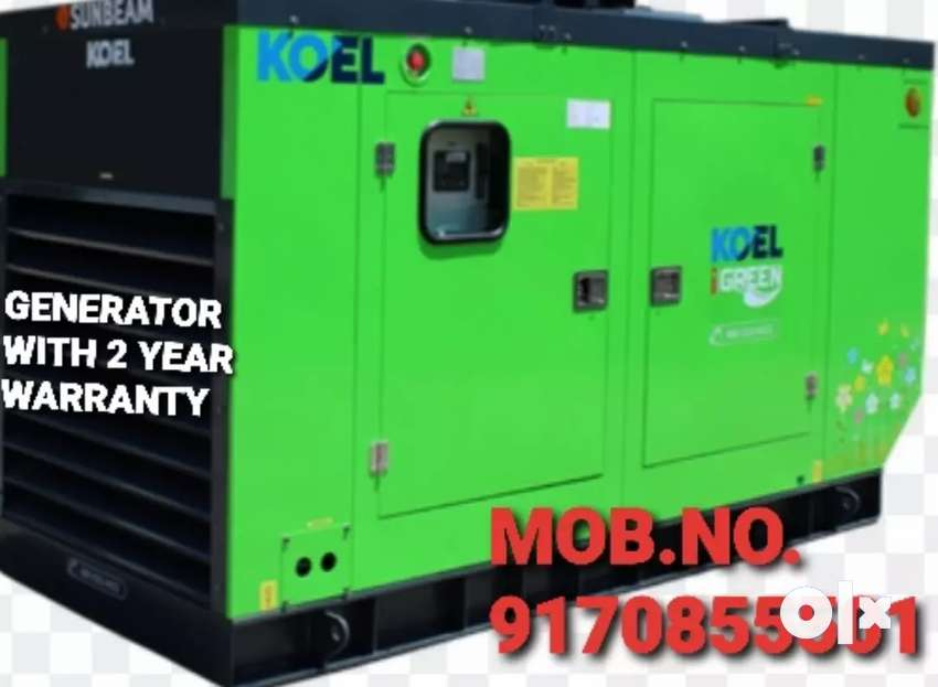 GENERATORS FOR SALE WITH FREE INSTALLATION AND LOW FUEL CONSUMPTION