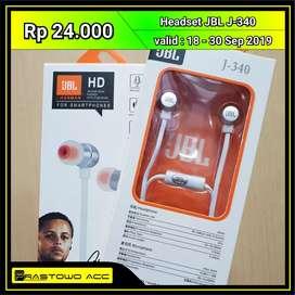 Earphone Headset JBL J-340 Promo