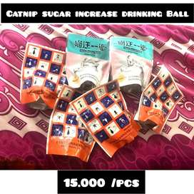 Catnip sugar increase drinking Ball