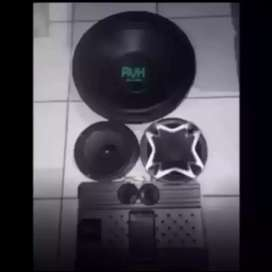 Mantap Trbaru PAKET AUDIO CUBIG AVH suara mantep bonus led cosmetik