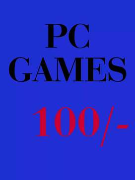 (Games for pc @100/-)