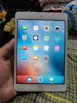 ipad mini 1 wifi cellular 4G  16gb white minus lcd