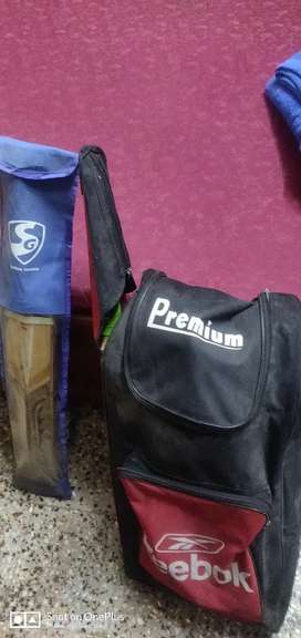 Cricket Kit With Bat.