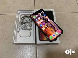 iPhone xs max its superb condition and with box available