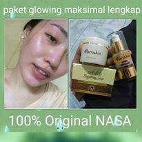 paket glowing maksimal 100%original nasa tanpa mercury