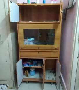 Wooden cupboard in Thane west