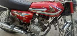 Honda CG 125 A One Conditions