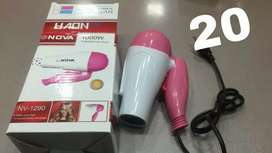 Hair dryer 2in1 cold and hot