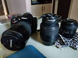 Nikon D5200 With Lens Kit and Accessory