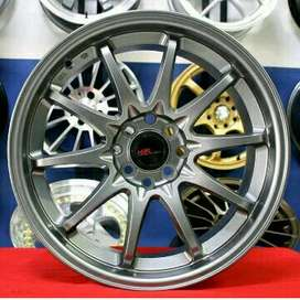 jual Velg Racing R17x7'5/8'5 H8 Livina, avanza, jaaz, yaris, freed
