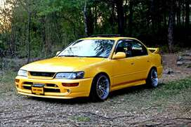 Toyota Corolla 1996 Complete Body Kit ( Front, Rear, & 2x sides )