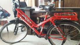 Hero STITCH bicycle. Red colour. Hardly used.