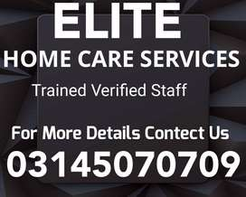 ELITE) Provide Domestic Staff, Patient Care, Maid, Driver, Cook